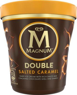 Magnum 440Ml / 310G Jäätelöpakkaus Double Salted Caramel