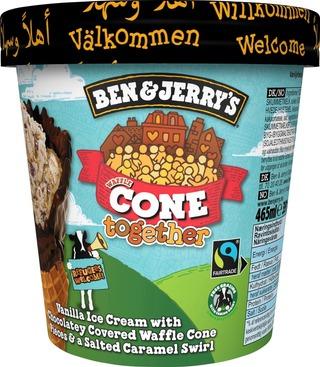 Ben & Jerry's Jäätelöpakkaus Cone Together 465Ml/391G