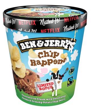 Ben & Jerry's Jäätelöpakkaus Chip Happens 465Ml/408G