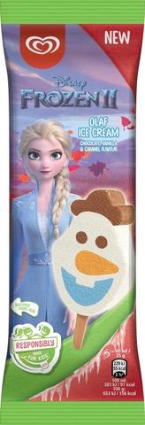 Heartbrand Disney Jäätelöpuikko Frozen Ii Olaf 60 Ml
