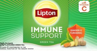 Lipton Vihreä Tee Immune Support 26 Gr