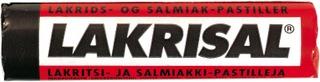 Lakrisal Lakritsi-Salmiakki Pastilli 25G