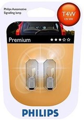 Philips Automotive Premium T4w Autolamppu 12V 4W 2Kpl