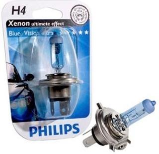 Philips H4 Blue Vision Ultra Autolamppu 12V 60/55W