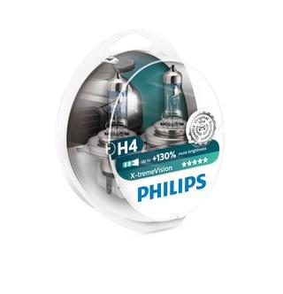 Philips H4 X-Tremevision Autolamppu 12V 60/55W 2Kpl