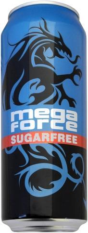 Mega Force 0,5L Sugarfree Energy Drink Energiajuoma