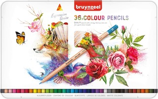 Bruynzeel Expression Puuvärikynät 36Kpl