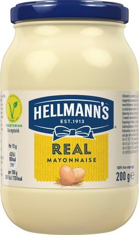 Hellmann's Majoneesi Real 200 G