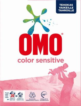 Omo Pyykinpesujauhe Color Sensitive 700 G