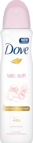Dove AP Spray Talc Soft 150ml