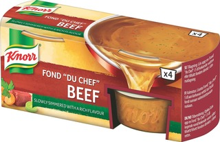 "Knorr Fond ""Du Chef"" Naudanliha-Annosfondi 4X28g"