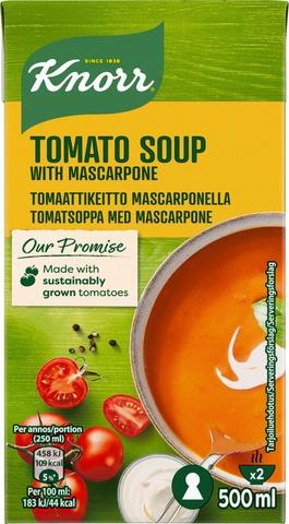 Knorr 500ml Tomaattikeitto mascarpone-juustolla