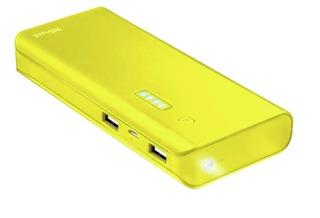 Trust Primo 10000mah varavirta keltainen