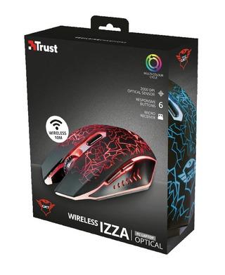 Trust GXT107 Izza langaton pelihiiri