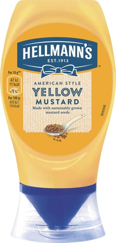 Hellmann's 260g Yellow sinappi