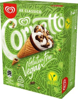 Cornetto 360Ml / 240G Monipakkaus Vanilla-Chocolate Gluteiiniton