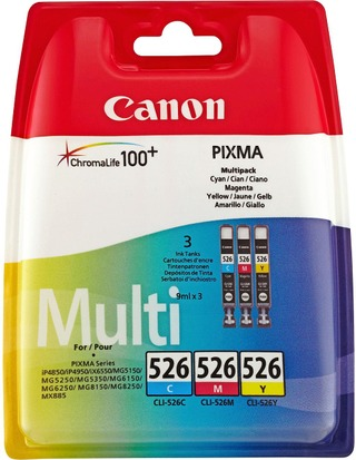Canon Cli-526 3-Värimustepatruuna
