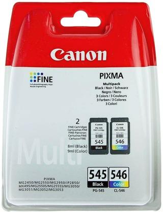 Canon PG-545/CL-546 Multi väripatruuna musta