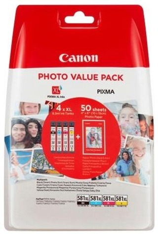 Canon Ink CLI-581XL Multipack Photo
