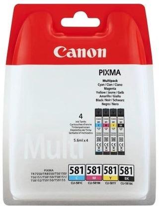 Canon Ink Cli-581 C/M/Y/Bk Multi Bl