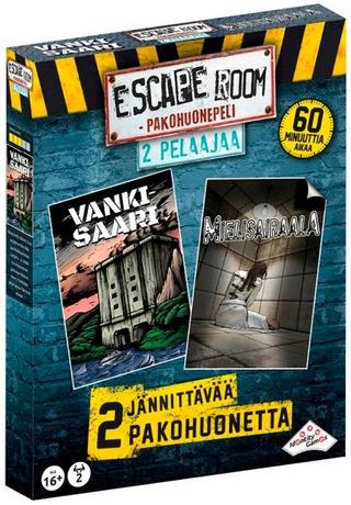 Escape Room Pakohuone Kahdelle Pelaajalle