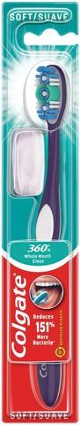 Colgate 360° Soft Hammasharja 1Kpl