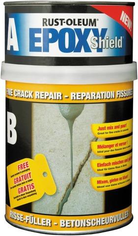 Rust-Oleum Epoxyshield Lattiahalkeaman Korjausaine 500Ml