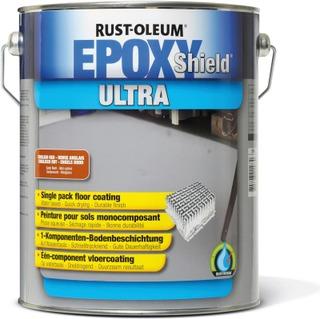 Rust-Oleum Epoxyshield Ultra 1K Lattiaepoksi 5L Vaalean Harmaa Ral 7035
