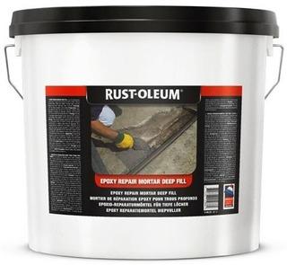Rust-Oleum 5190 Epoksikorjauslaasti 25Kg Harmaa Syvään Täyttöön