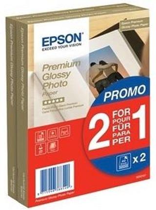 Epson Premium Glossy Valokuvapaperi 100X150mm 2X40 Arkkia