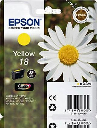 Epson 18 mustepatruuna keltainen