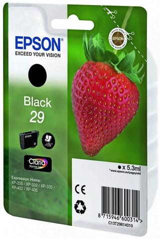 Epson 29 mustepatruuna musta