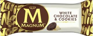 Magnum 90ML / 74g jäätelöpuikko White Chocolate & Cookies