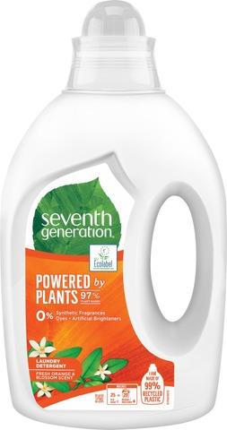 Seventh Generation Pyykinpesuneste Fresh Orange & Blosson Scent 1000 Ml