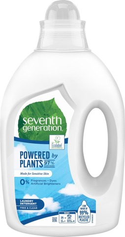 Seventh Generation Pyykinpesuneste Free & Clear 1000 Ml