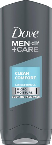 Dove Men+Care Suihkusaippua Clean Comfort 250Ml