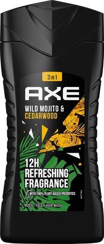 Axe Suihkusaippua Green Mojito & Cedarwood 250 Ml