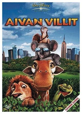 Aivan Villit Dvd
