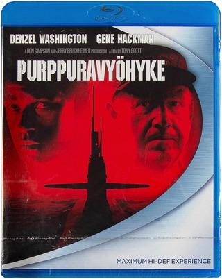 Purppuravyöhyke - Crimson Tide Blu-Ray