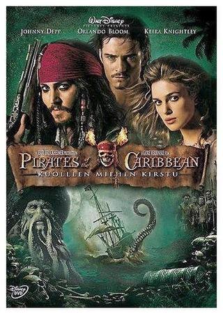 Pirates Of The Caribbean - Kuolleen Miehen Kirstu Dvd