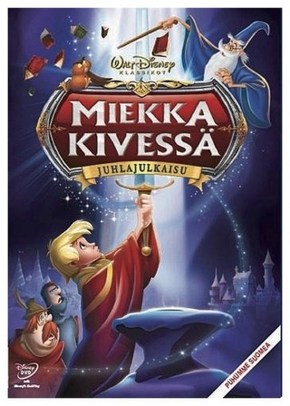 Miekka Kivessä Dvd