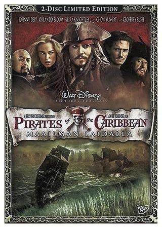 Pirates Of The Caribbean 3 - Maailman Laidalla Dvd