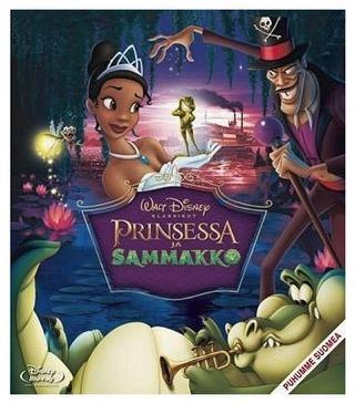 Blu-Ray Prinsessa Ja Sammakko