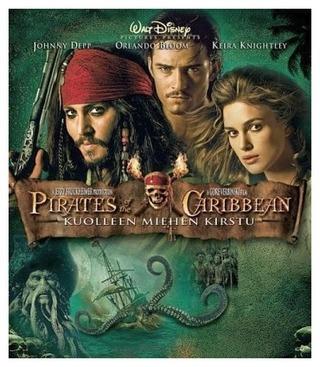 Pirates Of The Caribbean 2 - Kuolleen Miehen Kirstu Blu-Rau