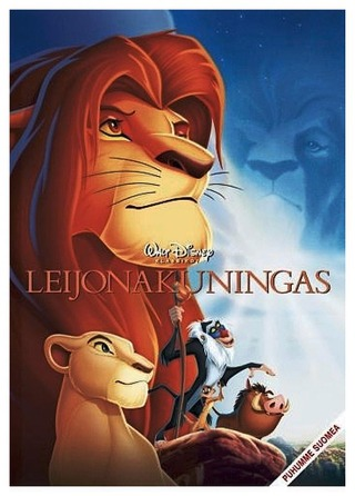 Leijonakuningas Dvd