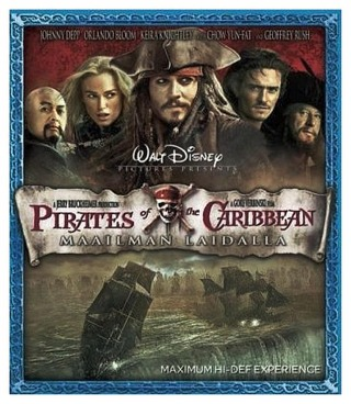 Pirates Of The Caribbean: Maailman Laidalla Blu-Ray