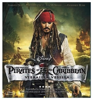 Pirates Of The Caribbean 4 - Vierailla Vesillä Blu-Ray