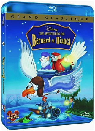 Pelastuspartio Bernard Ja Bianca Blu-Ray