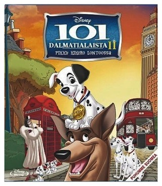 Blu-Ray 101 Dalmatialaista 2: Pikku Kikero Lontoossa