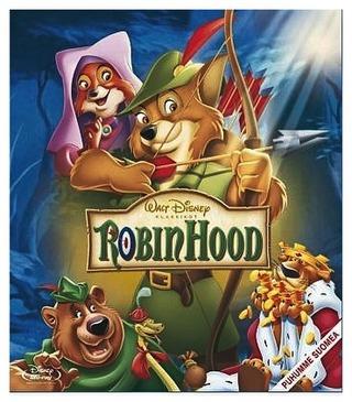 Disney Klassikko 21: Robin Hood Blu-Ray